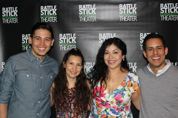 Photo Flash: SEVEN SPOTS ON THE SUN Celebrates Opening at Rattlestick Playwrights Theater