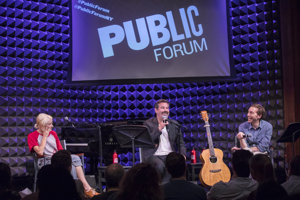 Heather Christian, Duncan Sheik, and Public Forum  Michael Friedman
