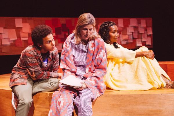 Mateo Mpinduzi-Mott, Christine Dunford & Elayn J Taylor  Photo