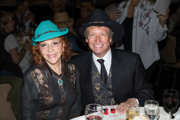 Glorya Kaufman with Nigel Lythgoe