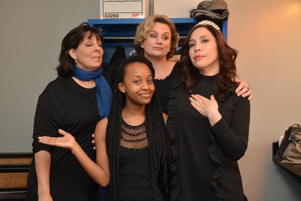 Christine Pedi, Mirirai Sithole, Cady Huffman and Andrea Burns