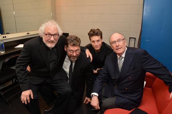 Tim Jerome, David Staller, Christian DeMarais snd Paxton Whitehead