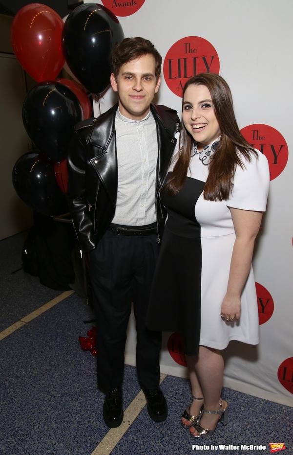 Taylor Trensch and Beanie Feldstein
