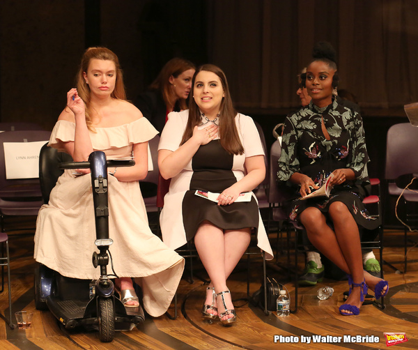 Madison Ferris, Beanie Feldstein and Denee Benton