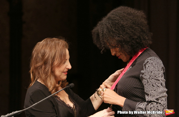 Kathy Najimy and Sarah Jones
