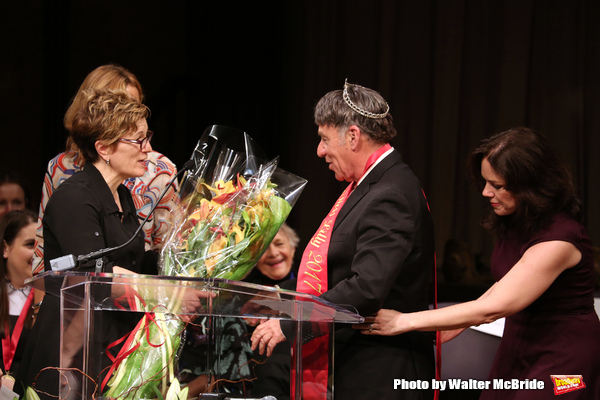 Lisa Kron, Stephen Schwartz and Georgia Stitt