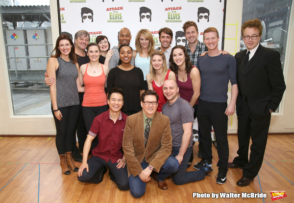 Benjamin Rauhala, Melissa Zaremba, Curtis Wiley, Ashley Spencer, Eric Sciotto and Don Stephenson with the cast