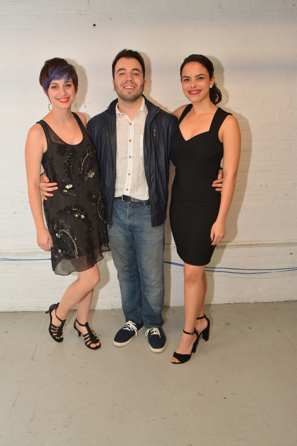 Emily Iaquinta, Pedro Coppeti and Jeanine Bruen