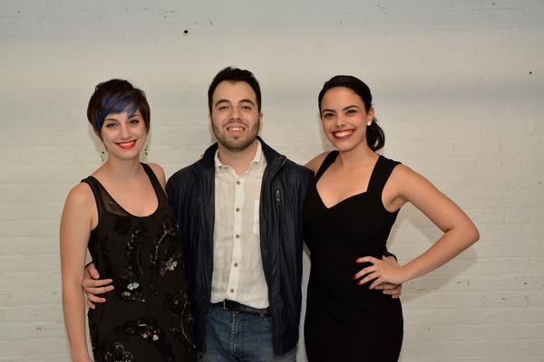 Emily Iaquinta, Pedro Coppeti and Jeanine Bruen Photo