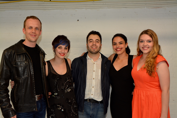 Jacob Pressley, Emily Iaquinta, Pedro Coppeti, Jeanine Bruen and Emma Camp Photo