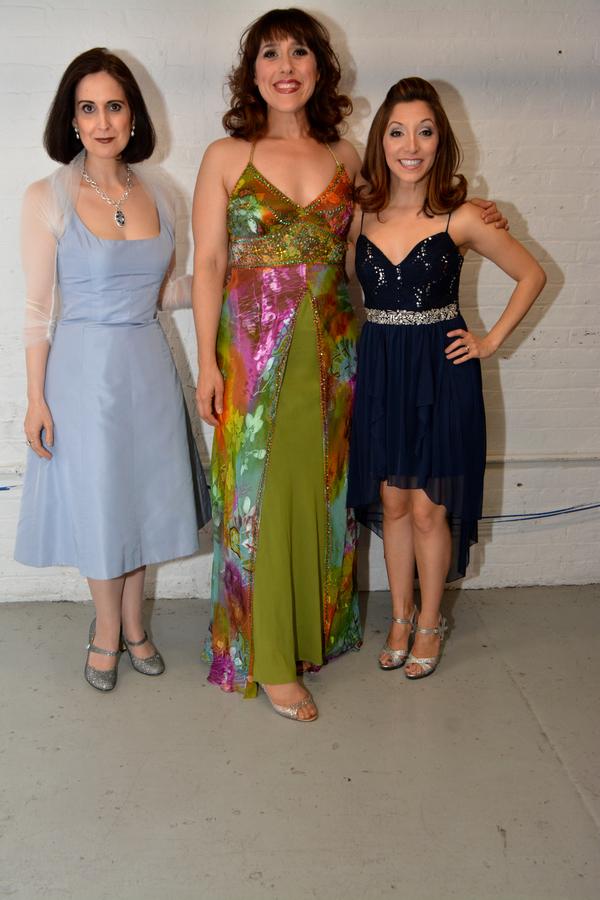 Stephanie D'Abruzzo, Farah Alvin and Christina Bianco