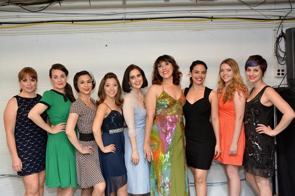 Maxine Linehan, Danette Holden, Gaby Cook, Christina Bianco, Stephanie D'Abruzzo, Farah Alvin, Jeanine Bruen, Emma Camp and Emily Iaquinta