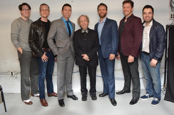 Bobby White, Jacob Pressley, Jeremy Benton, Scott SIegel, Danny Gardner, Brian Charles Rooney and Pedro Coppeti
