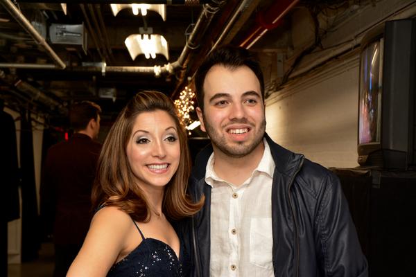 Christina Bianco and Pedro Coppeti
