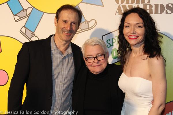 Richard Topol, Paula Vogel and Katrina Lenk
