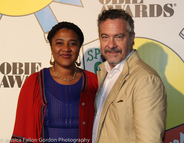 Lynn Nottage and Tony Gerber Photo