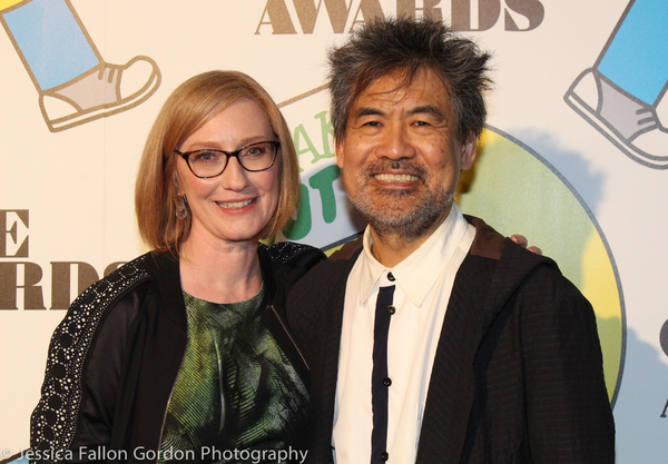 Heather Hitchens and David Henry Hwang