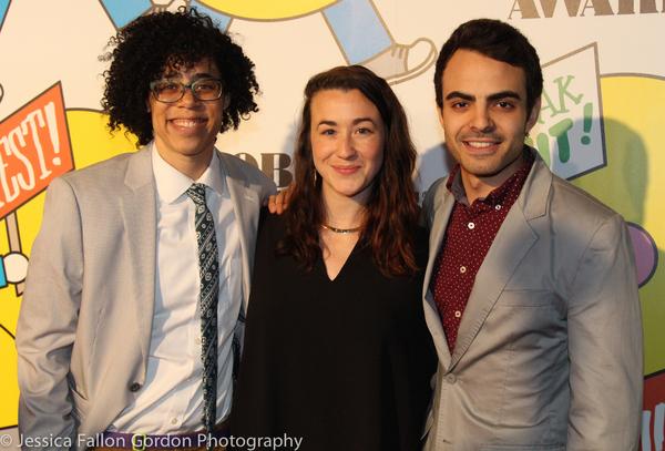 Storm Thomas, Jessie Shelton and Austin Reed Alleman