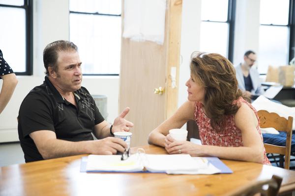Michael Rispoli and Alyssa Bresnahan
