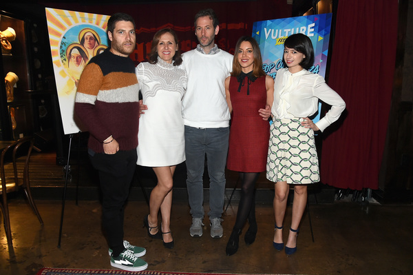 Adam Pally, Molly Shannon,  Jeff Baena, Aubrey Plaza and Kate Micucci