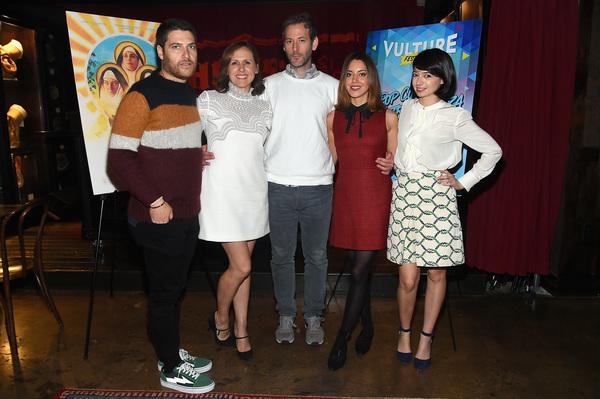 Adam Pally, Molly Shannon,  Jeff Baena, Aubrey Plaza and Kate Micucci Photo