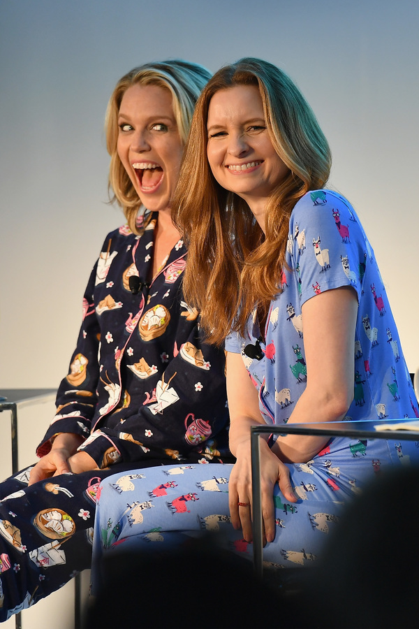 Jessica St. Clair and Lennon Parham