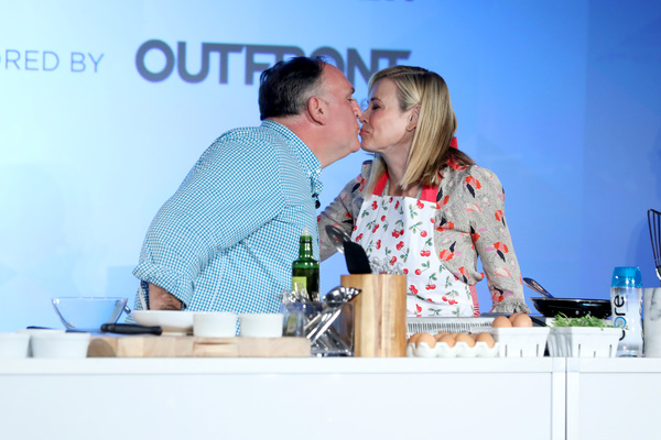 Jose Andres and Chelsea Handler