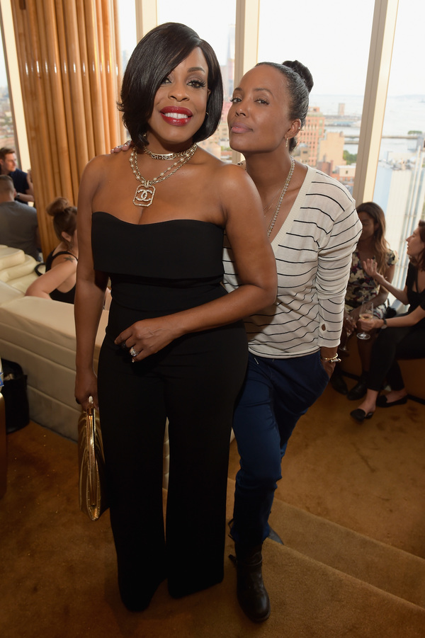 Niecy Nash and Aisha Tyler