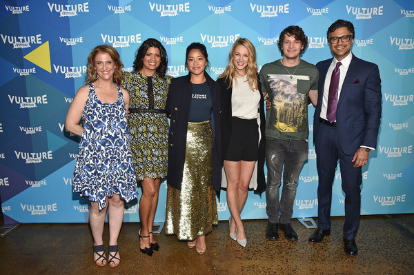 Jennie Snyder Urman, Andrea Navedo, Gina Rodriguez, Yael Grobglas, Brett Dier, and Ja Photo
