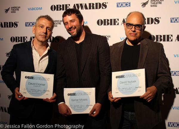 David Cromer, Itamar Moses and David Yazbek