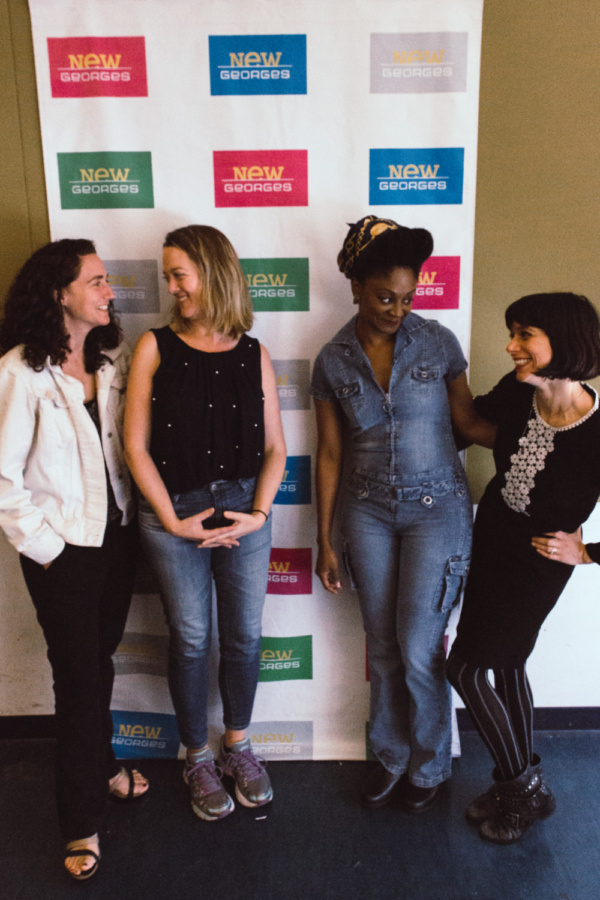 Daniella Topol, Polly Lee, April Matthis and Sheila Callaghan Photo