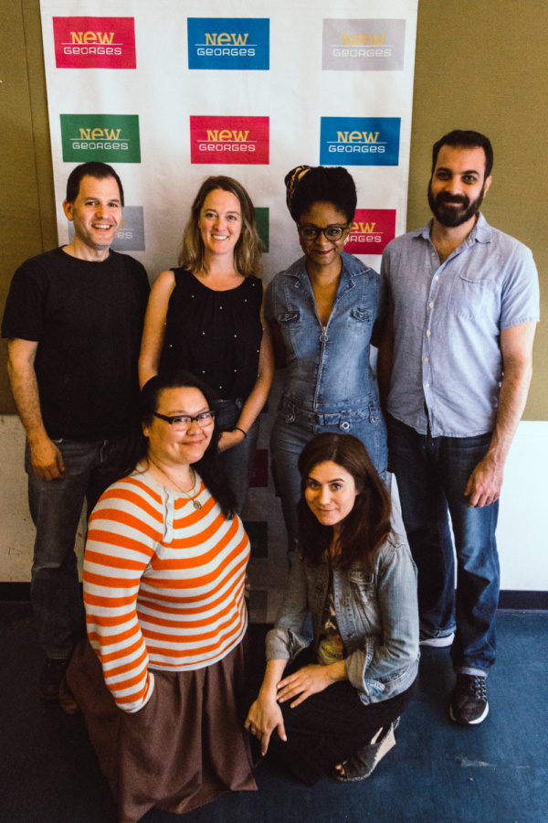 Photo Flash: Sneak Peek at the First Read-Through of (NOT) WATER, Coming to 3LD