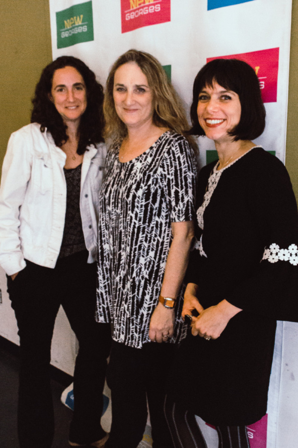 Daniella Topol, Susan Bernfield and Sheila Callaghan.