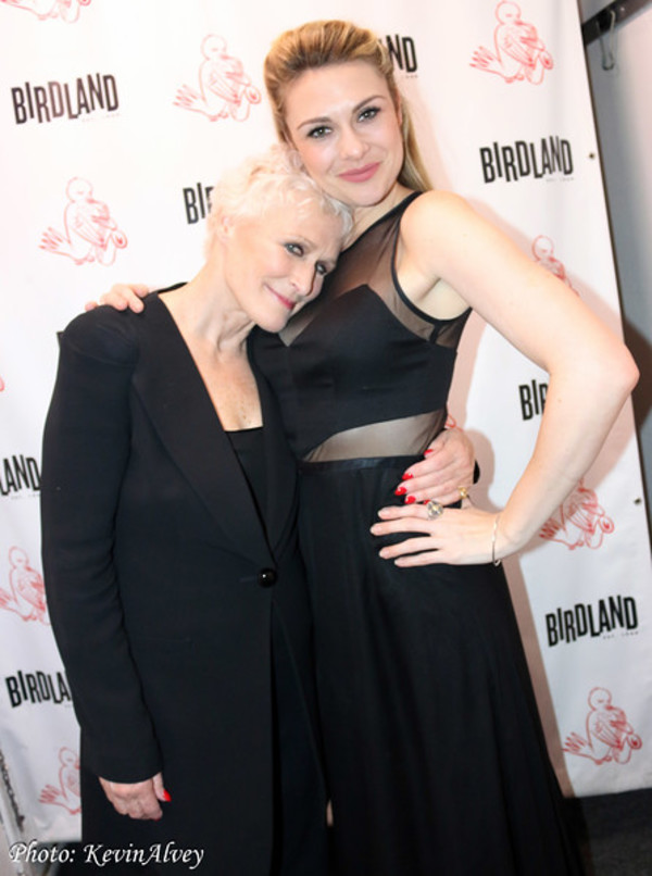 Glenn Close and Siobhan Dillon