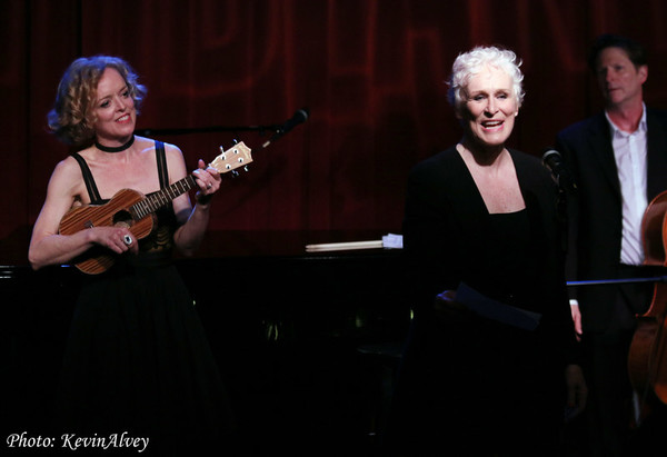 Nancy Anderson and Glenn Close