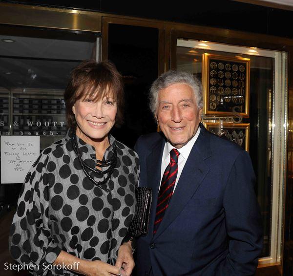 Michele Lee & Tony Bennett