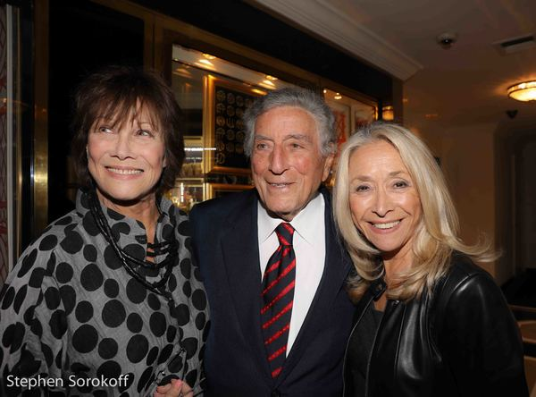 Michele Lee, Tony Bennett, Eda Sorokoff