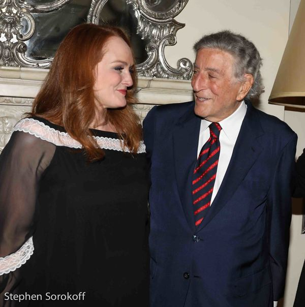 Antonia Bennett & Tony Bennett