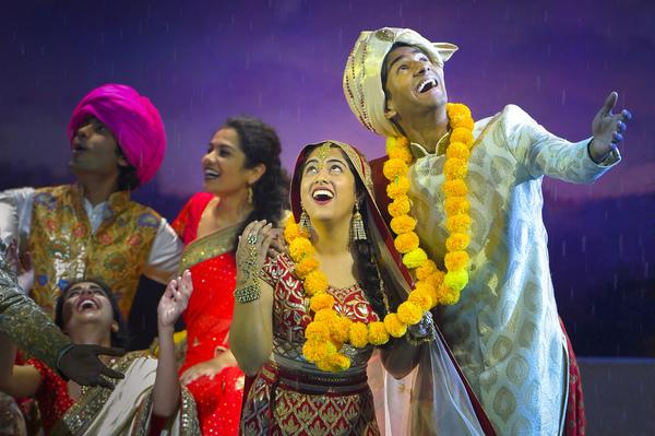 Photo Flash: First Look at Berkeley Rep's Broadway-Bound MONSOON WEDDING