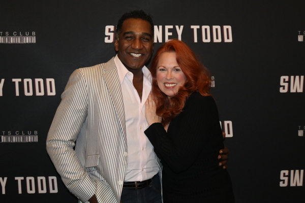 Photo Flash: Carolee Carmello, Norm Lewis, and the Cast of SWEENEY TODD Meet the Press
