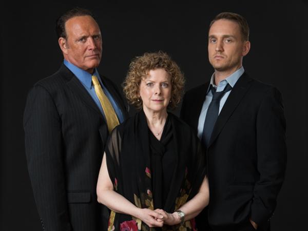 James Kiberd, Katherine Leask, Ben Curtis Photo
