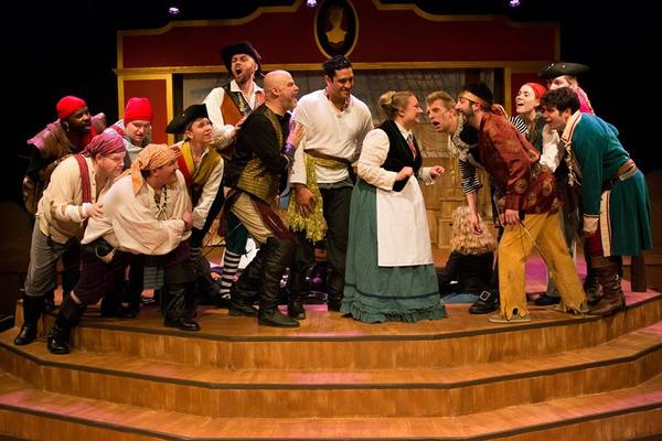 Photo Flash: First Look at THE PIRATES OF PENZANCE at Lakewood Playhouse