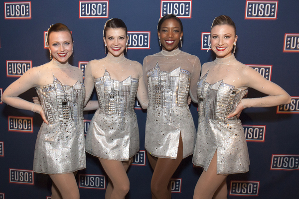 The Rockettes attend the Fleet Week NY 2017 Official Kick-Off Party at Hard Rock Cafe New York.