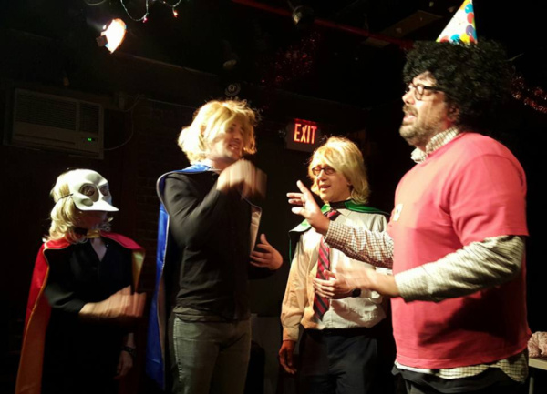 Photo Flash: IRTE Enters Final Weekend of AVOIDANCE! Improvised Game Show