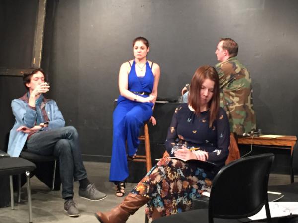 Colin Chapin, Jessica Carollo, Nicole Greevy Photo
