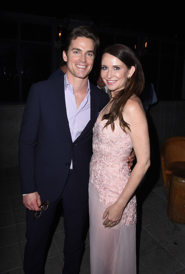 Matt Bomer and Janie Bryant