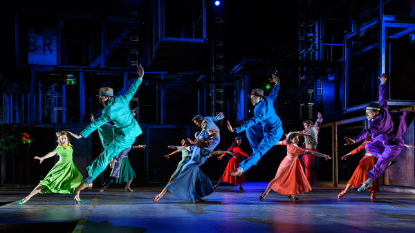Photo Flash: First Look at ON THE TOWN at Regent's Park Open Air Theatre; Cast Member Replaced Due to Injury
