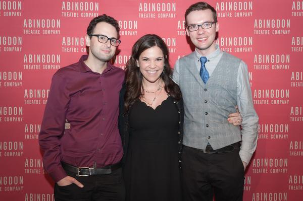 Lindsay Mendez, Charlie Sohne and Tim Rosser