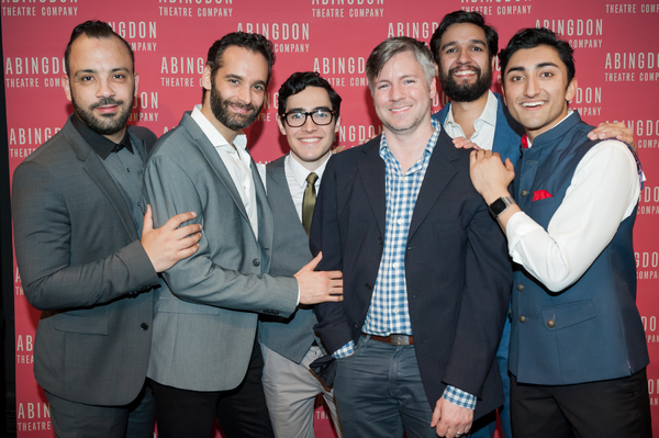 Photo Flash: THE BOY WHO DANCED ON AIR Celebrates Opening Night at Abingdon Theatre Company