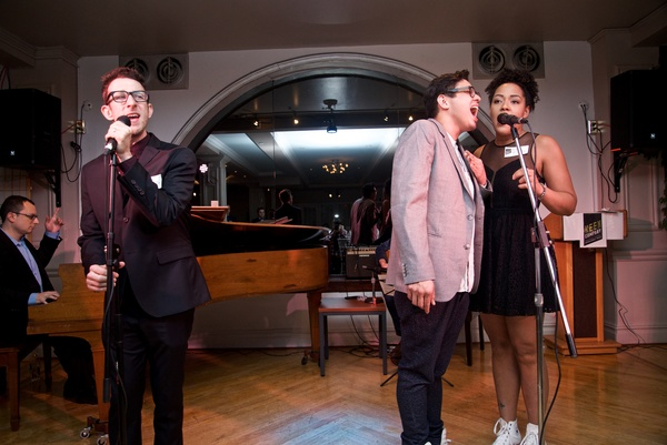 Photo Flash: Molly Ringwald, Amy Spanger, Cast of TICK, TICK...BOOM! and More Celebrate Victoria Leacock Hoffman at Keen Company Gala